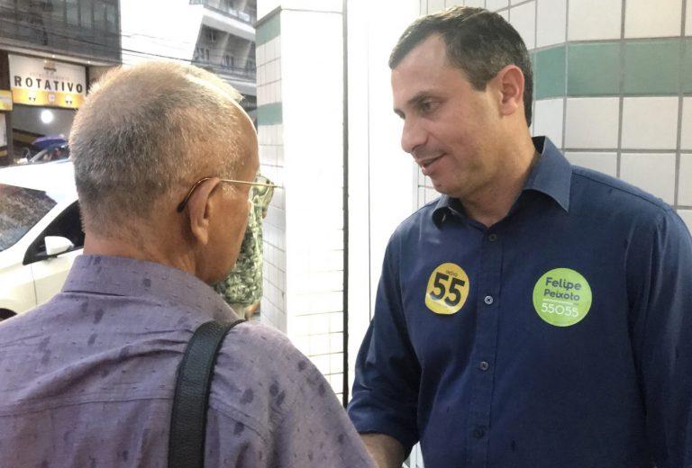 Segurança, educação, saúde e emprego estão entre as propostas de Felipe