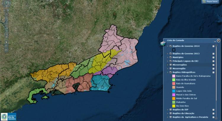 Portal de Geoinformações (WebGeo)