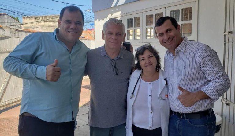 Felipe Peixoto prossegue com agendas pelo interior do estado