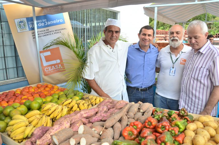 Ceasa RJ: Banco de Alimentos