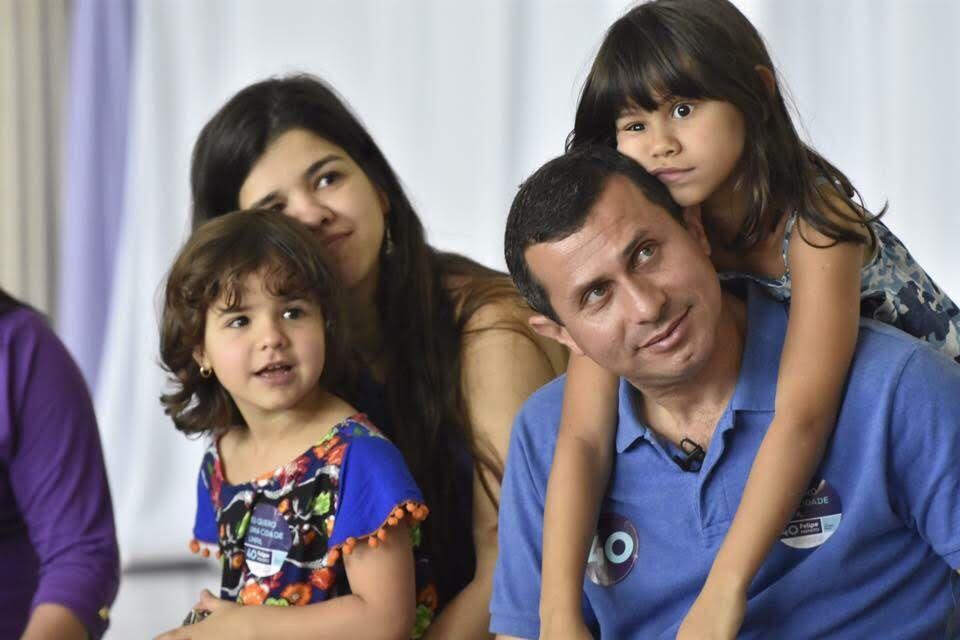 felipe e familia